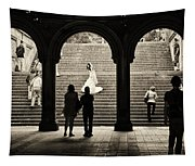 Central Park Bride Tapestry