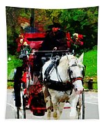 Central Park Carriage Tapestry