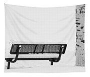 Cesar Melai Love In The Snow Bw Tapestry