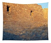 Chaco Canyon Indian Ruins, Sunset, New Tapestry