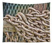 Chained Up Tapestry