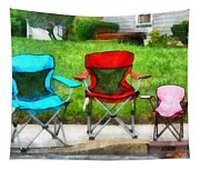 Chair Family Tapestry