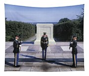 Changing Of The Guard Tapestry
