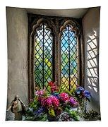 Chapel Flowers Tapestry