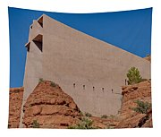Chapel Of The Holy Cross Sedona Az Side Tapestry