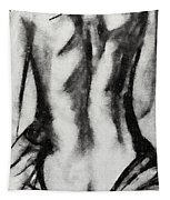 Charcoal Back Tapestry