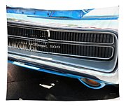 Charger 500 Front Grill And Emblem Tapestry
