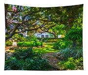 Charleston Sc Gardens Tapestry
