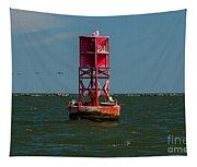 Charleston Harbor Buoy Tapestry