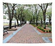 Charleston Waterfront Park Walkway Tapestry