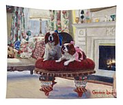 Charlie And Lizzie Tapestry