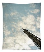 Chasing The Dream Paris Eiffel Tower Tapestry