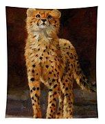 Cheetah Cub Tapestry