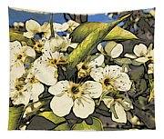 Cherry Blooms Tapestry
