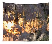 A Cherry Blossom Sunset Tapestry