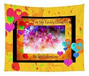 Cherry Blossom Valentine - Featured In Comfortable Art And Cards For All Occasions Groups Tapestry