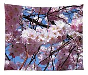 Cherry Blossom Trees Of Branch Brook Park 3 Tapestry