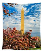 Cherry Blossoms In Washington Tapestry