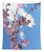 Cherry Floral Fountain Tapestry