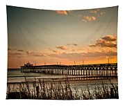Cherry Grove Pier Myrtle Beach Sc Tapestry