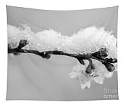 Cherryblossom With Snow Tapestry