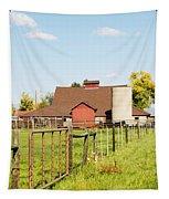 Cherryvale Barn Boulder Tapestry