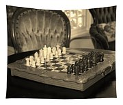 Chess Game Tapestry
