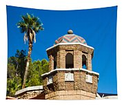 Cheveron Domed Tower 1 Tapestry