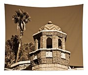 Cheveron Domed Tower 2 Tapestry