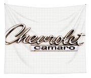 Chevrolet Camaro Emblem Tapestry