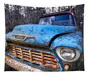Chevy In The Woods Tapestry