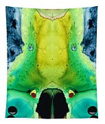Chi Ant - Aka Mr Happy Bug By Sharon Cummings Tapestry