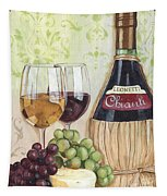 Chianti And Friends Tapestry by Debbie DeWitt