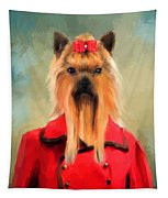 Chic Yorkshire Terrier Tapestry