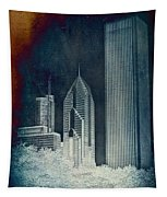 Chicago 4 Tall Shoulders Textured Tapestry