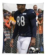 Chicago Bears Te Dante Rosario Training Camp 2014 01 Tapestry