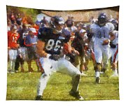 Chicago Bears Te Zach Miller Training Camp 2014 Pa 02 Tapestry