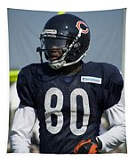 Chicago Bears Wr Armanti Edwards Training Camp 2014 01 Tapestry