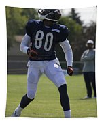 Chicago Bears Wr Armanti Edwards Training Camp 2014 03 Tapestry