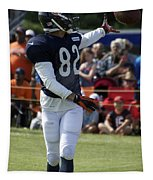 Chicago Bears Wr Chris Williams Training Camp 2014 04 Tapestry