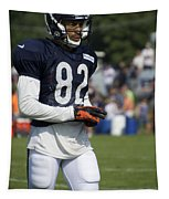 Chicago Bears Wr Chris Williams Training Camp 2014 05 Tapestry
