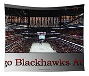 Chicago Blackhawks At Home Panorama Sb Tapestry