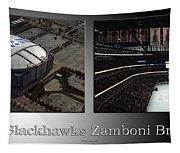 Chicago Blackhawks Zamboni Break Time 2 Panel Sb Tapestry