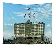 Chicago Cubs Scoreboard 02 Tapestry