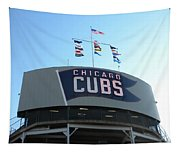 Chicago Cubs Signage Tapestry