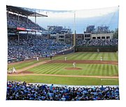 Chicago Cubs Up To Bat Tapestry