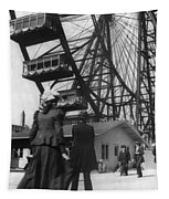 Chicago Ferris Wheel, C1893 Tapestry