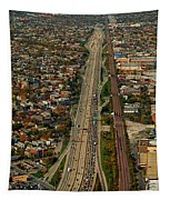 Chicago Highways 01 Tapestry
