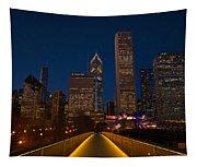 Chicago Lights Tapestry