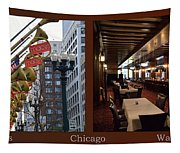 Chicago Macys Department Store 2 Panel Tapestry